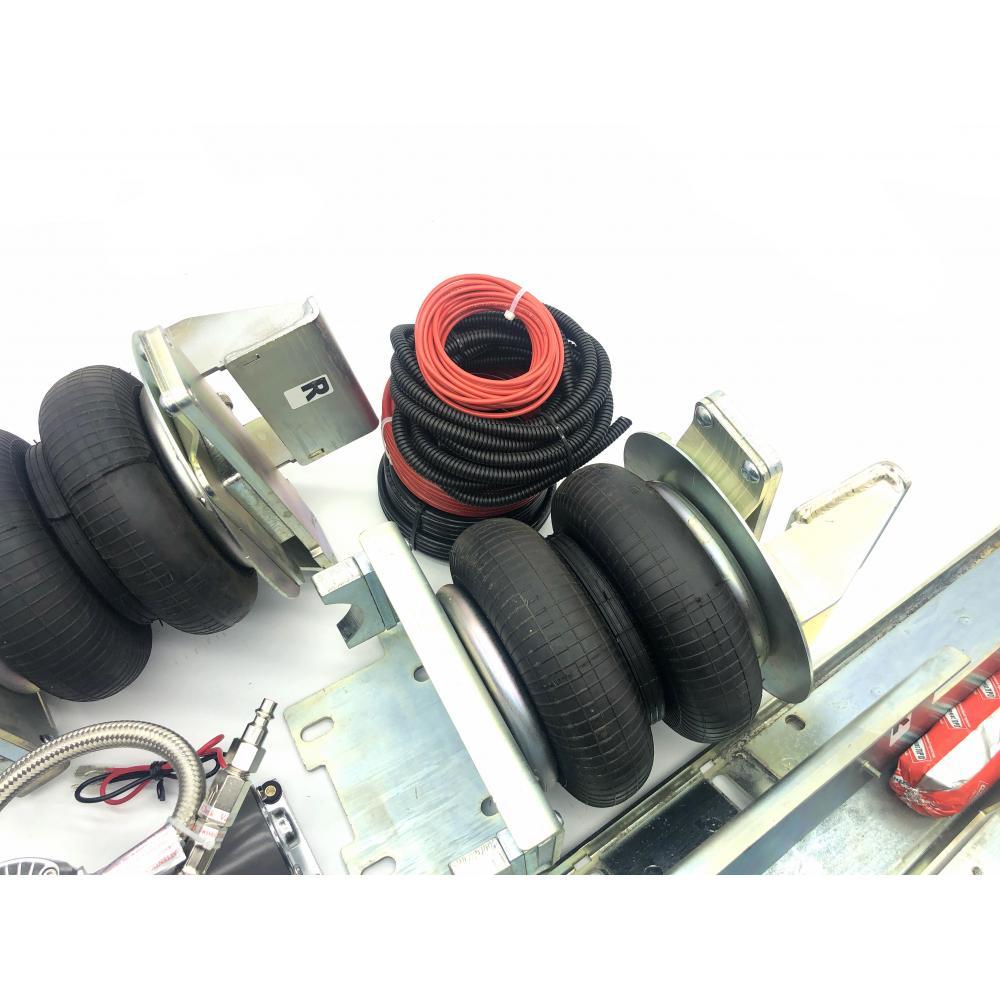Пневмоподвеска задняя Мерседес Спринтер 211-324 (W906/W907) с усилителями, с 2К. сист. упр. СТАНДАРТ