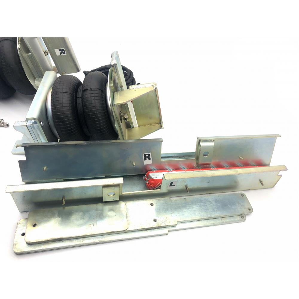 Пневмоподвеска задняя Мерседес Спринтер 211-324 (W906/W907) с усилителями, БАЗОВЫЙ комплект