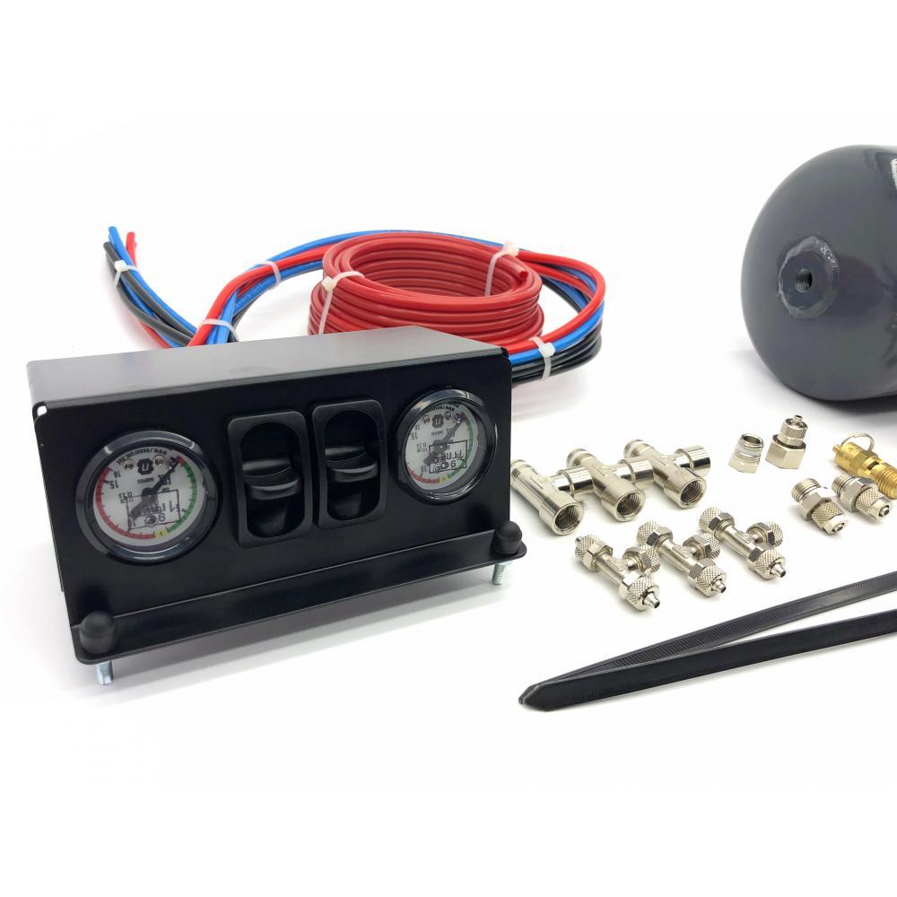 Система управления пневмоподвеской Эксперт 2К с ресивером 5л (без компрессора)