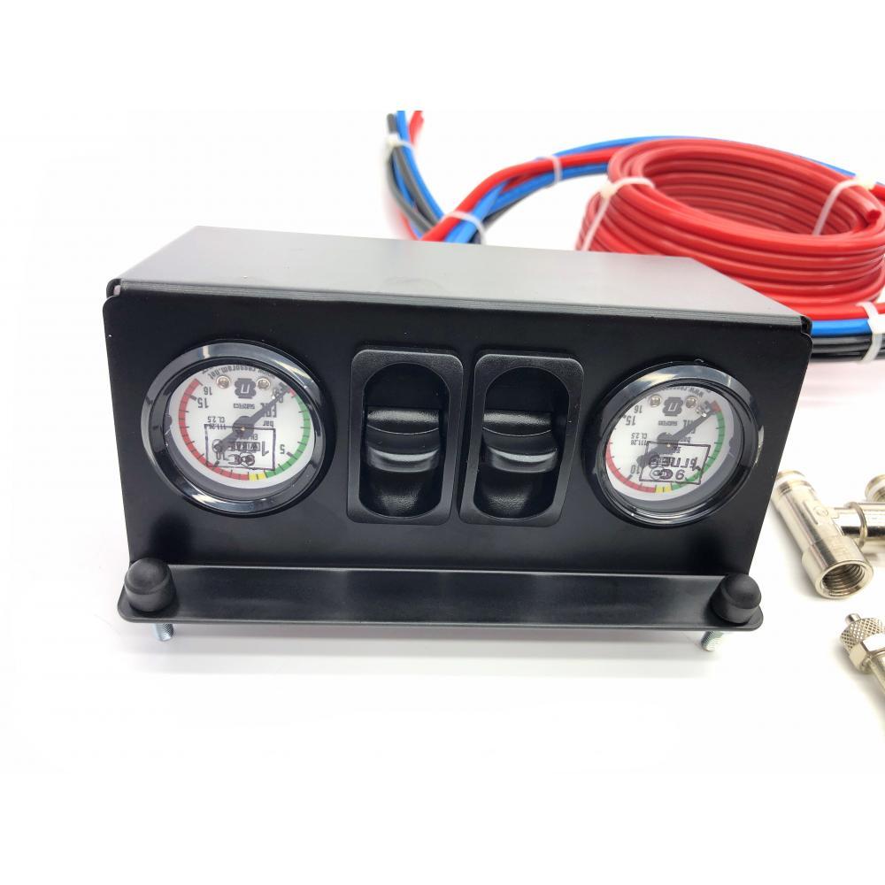 Двухконтурная система управления пневмоподвеской серии ЭКСПЕРТ с ресивером (без компрессора)